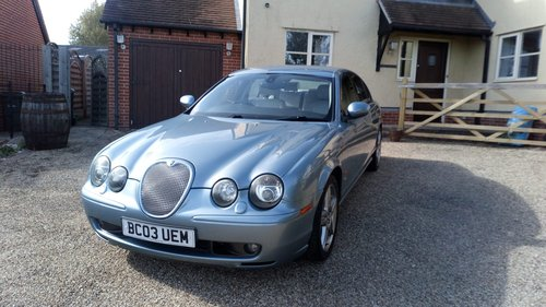2003 Jaguar S Type 4.2 Supercharged For Sale (picture 1 of 6)