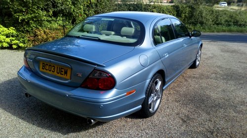 2003 Jaguar S Type 4.2 Supercharged For Sale (picture 2 of 6)