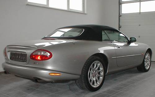 LHD 2000 Jaguar XKR  convertible only 53.000 miles For Sale (picture 1 of 6)