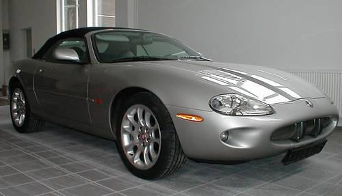 LHD 2000 Jaguar XKR  convertible only 53.000 miles For Sale (picture 2 of 6)