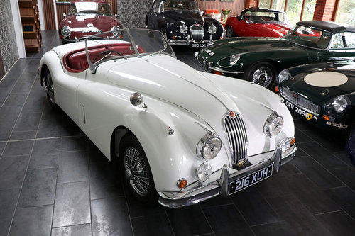 1957 Jaguar XK140 Roadster For Sale (picture 1 of 5)