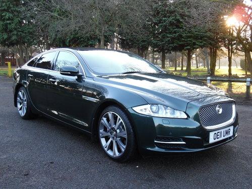 2011 Jaguar XJ 3.0TD auto Portfolio 51,000 Miles Full Jaguar For Sale (picture 1 of 6)