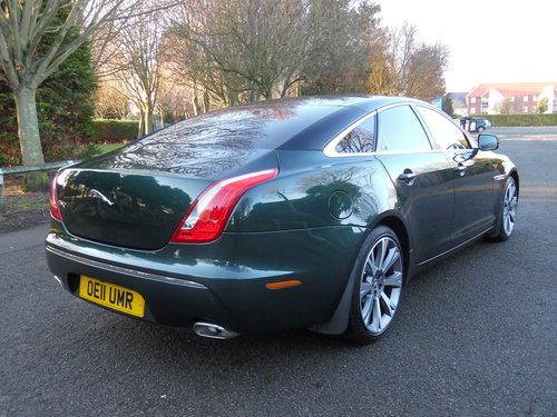 2011 Jaguar XJ 3.0TD auto Portfolio 51,000 Miles Full Jaguar For Sale (picture 4 of 6)