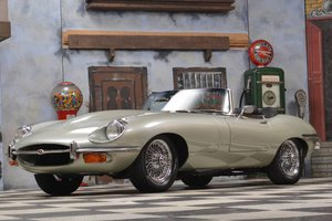 1970 Jaguar E-Type Series 2 Frame Off Restoration