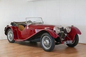 1936 Jaguar SS100 3.5: 16 Feb 2019 For Sale by Auction