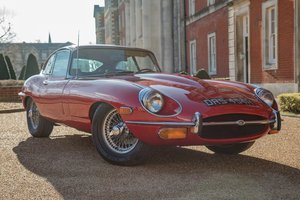 1969 Jaguar E Type Series 2 4.2 litre manual Fixed Head Coup For Sale by Auction