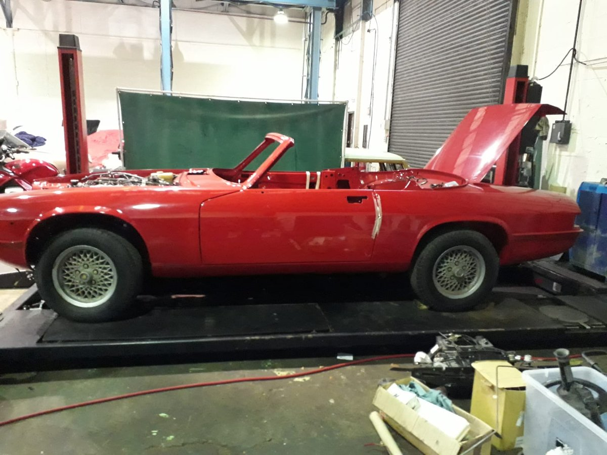 1989 XJS V12 - Restoration Project For Sale (picture 1 of 2)