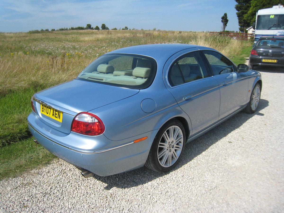 2007 Jaguar S-Type 2.7 TD V6 SE 4 door Auto For Sale (picture 2 of 6)