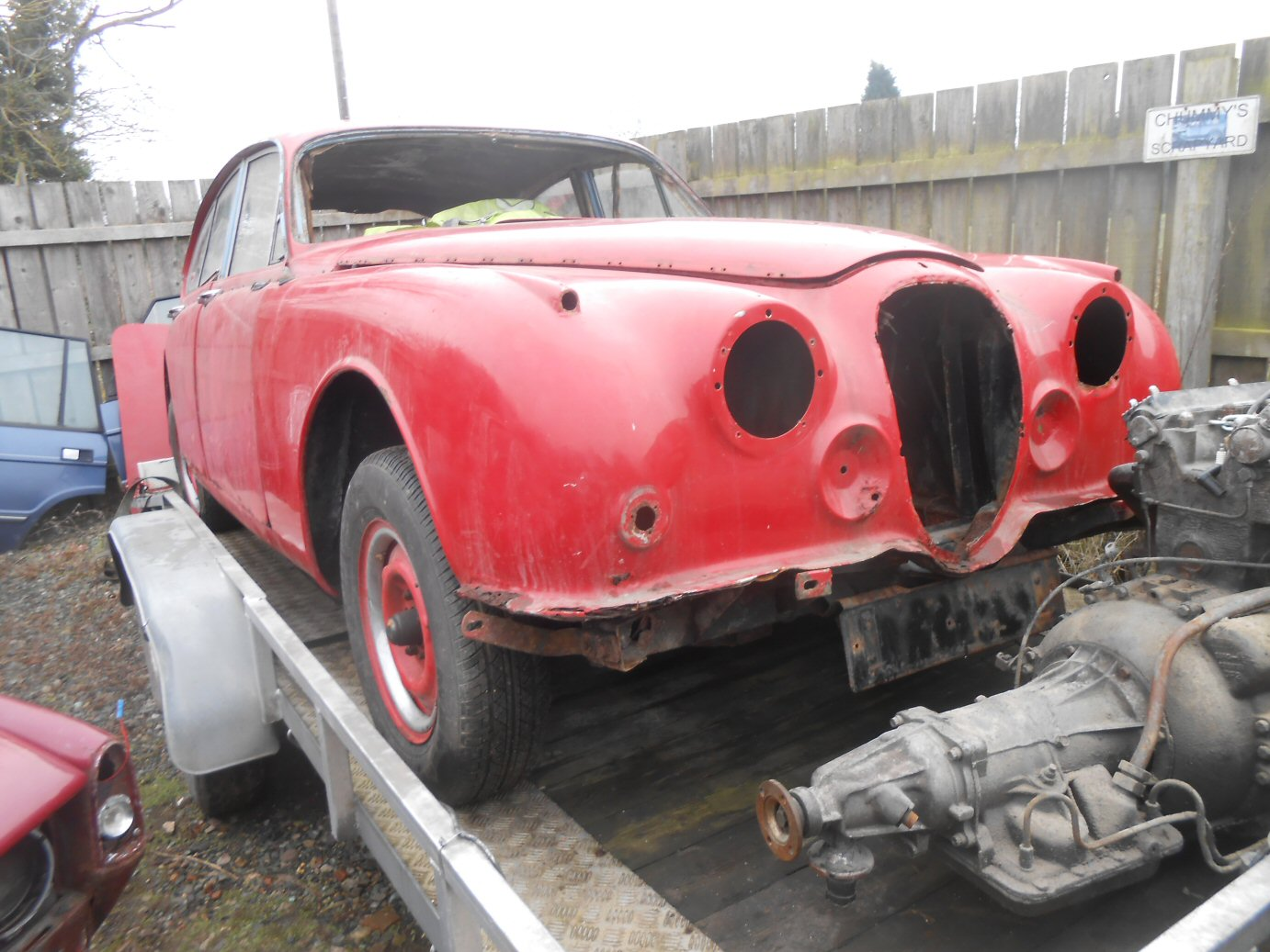 JAGUAR MK2 3.4 AUTOMATIC (FOR SPARES) For Sale (picture 1 of 2)