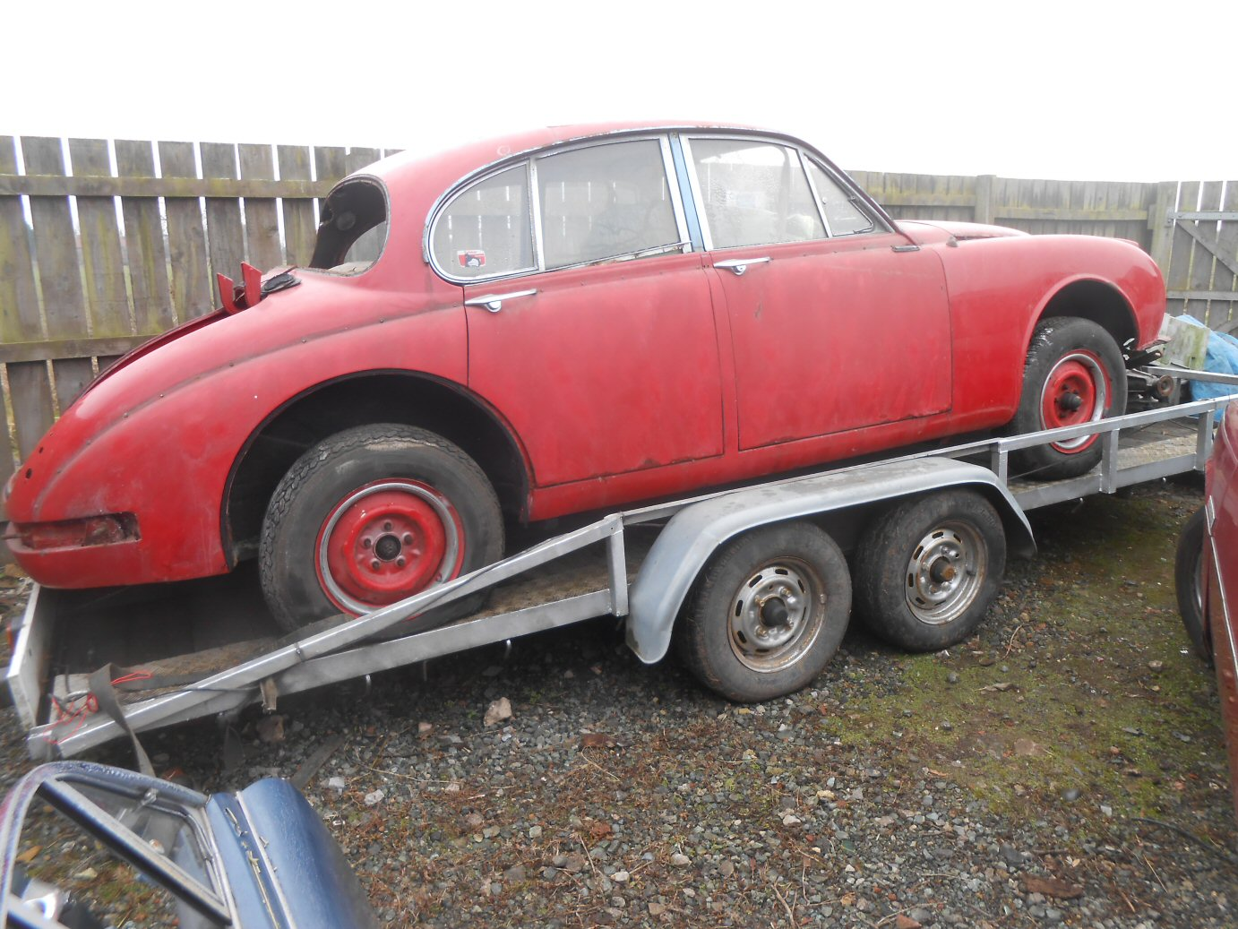 JAGUAR MK2 3.4 AUTOMATIC (FOR SPARES) For Sale (picture 2 of 2)