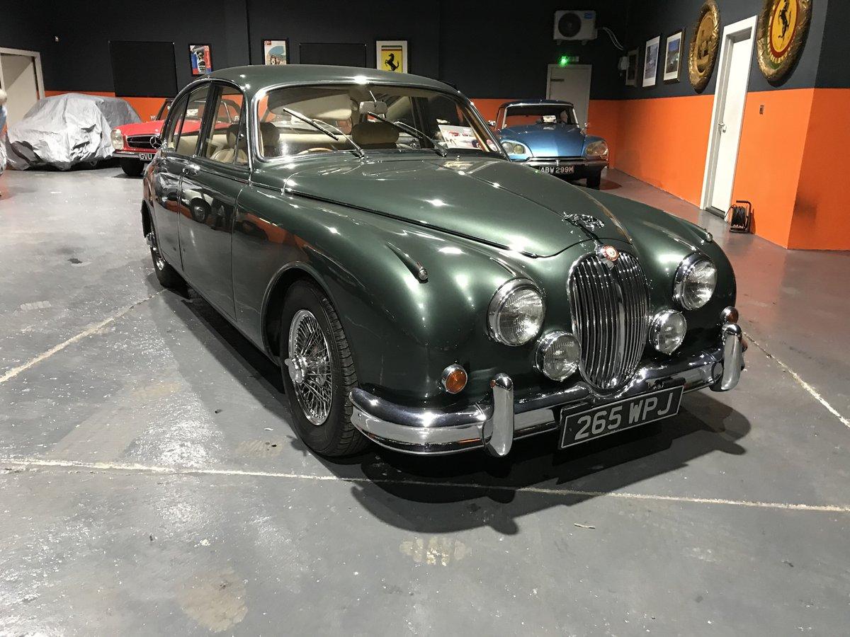 1963 JAGUAR 3.8 MK2 *MINT* MAN/O/DRIVE For Sale (picture 1 of 6)