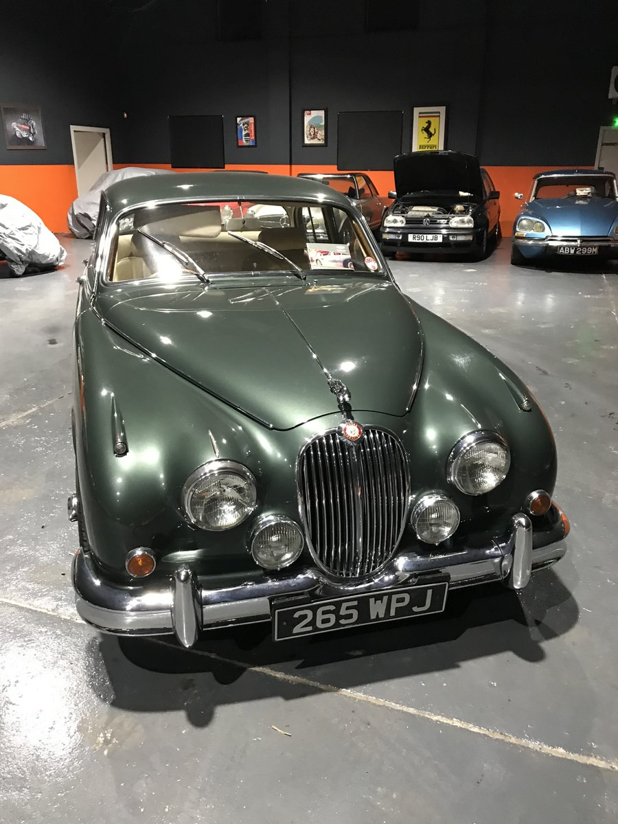 1963 JAGUAR 3.8 MK2 *MINT* MAN/O/DRIVE For Sale (picture 2 of 6)