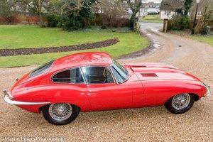 1962 Jaguar E-type Series 1 , 3.8 FHC Manual For Sale