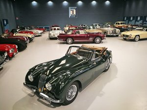 TOTALLY RESTORED  1953 JAGUAR XK 120 DROP HEAD COUPE For Sale