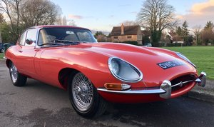 Jaguar E-Type Series 1 4.2 Coupe