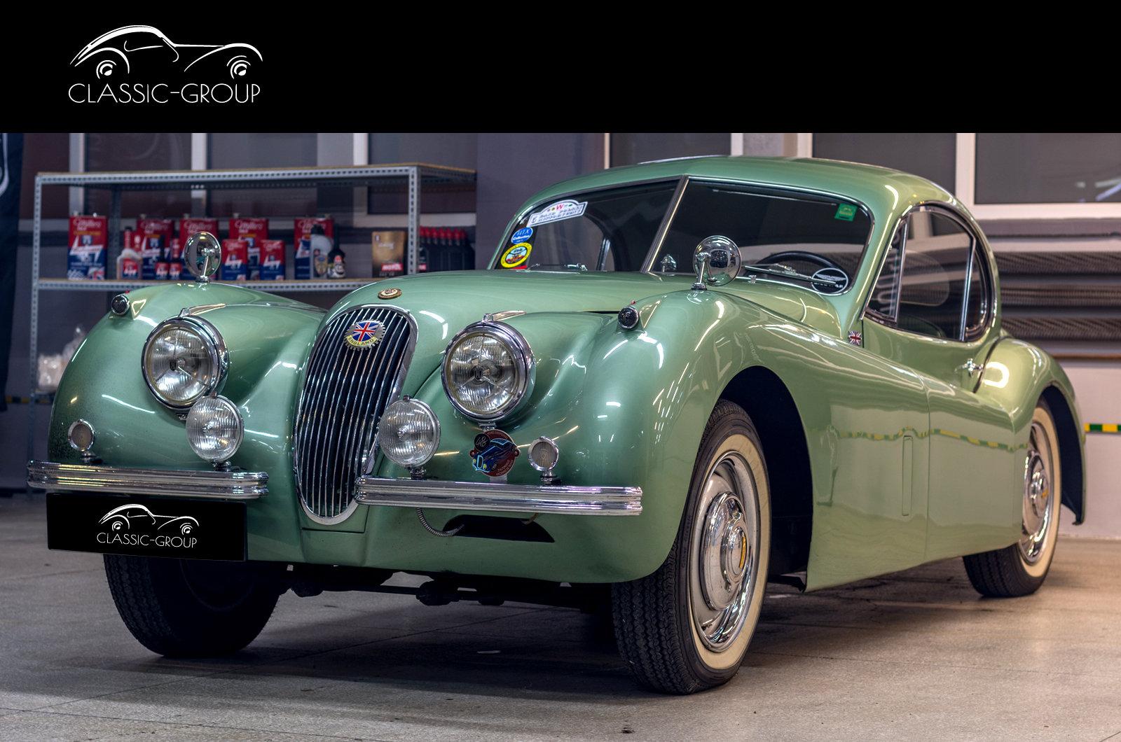 Jaguar XK120 FHC 1952 For Sale (picture 1 of 6)