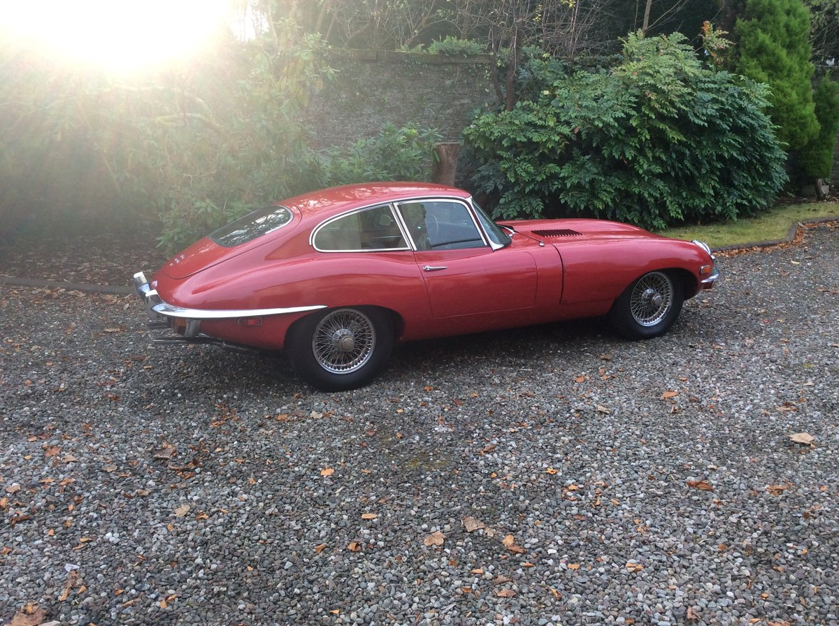 1970 Jaguar Etype 4.2 FHC For Sale (picture 2 of 6)