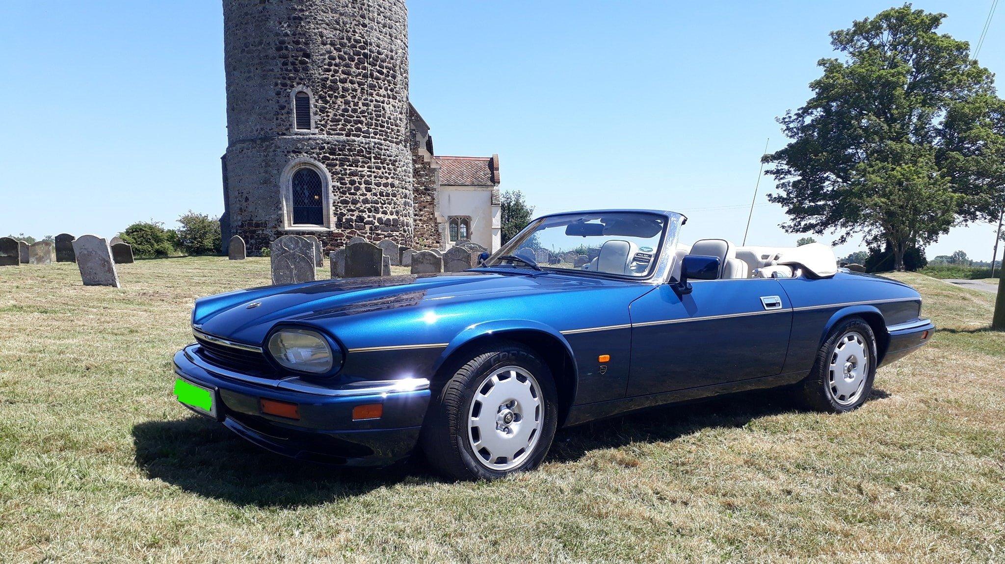 1995 jaguar xjs celebration convertible For Sale (picture 2 of 6)