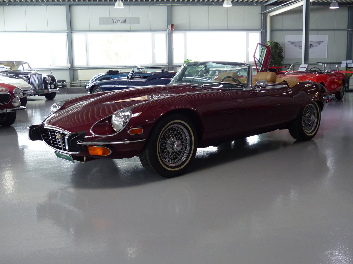 1973 Seltener S3 E-Type mit Handschaltung, Heritage Certificate  For Sale (picture 1 of 6)