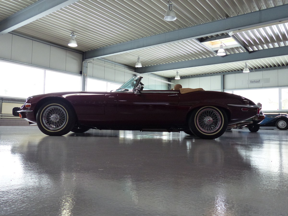 1973 Seltener S3 E-Type mit Handschaltung, Heritage Certificate  For Sale (picture 2 of 6)
