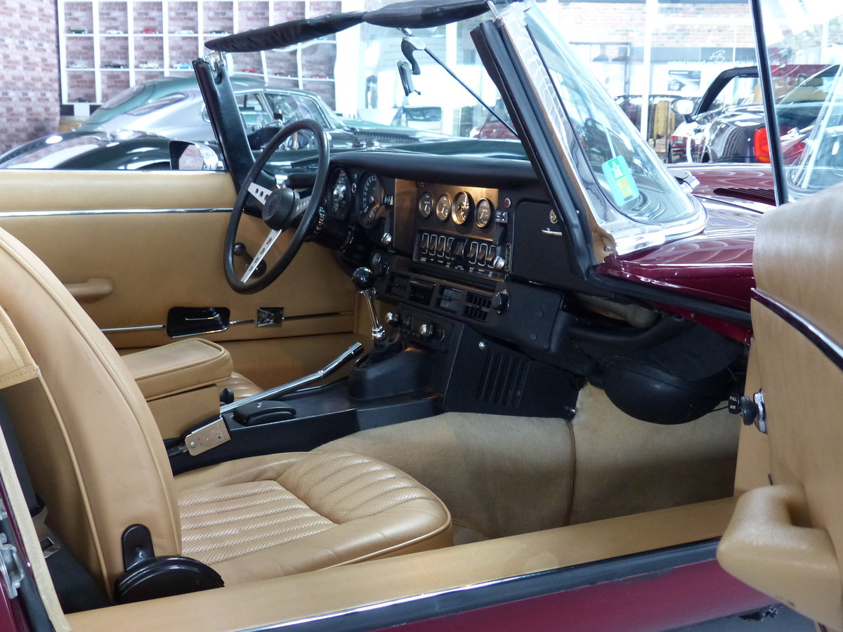 1973 Seltener S3 E-Type mit Handschaltung, Heritage Certificate  For Sale (picture 4 of 6)