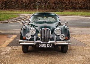 1960 Jaguar XK150 Fixedhead Coupé SOLD by Auction