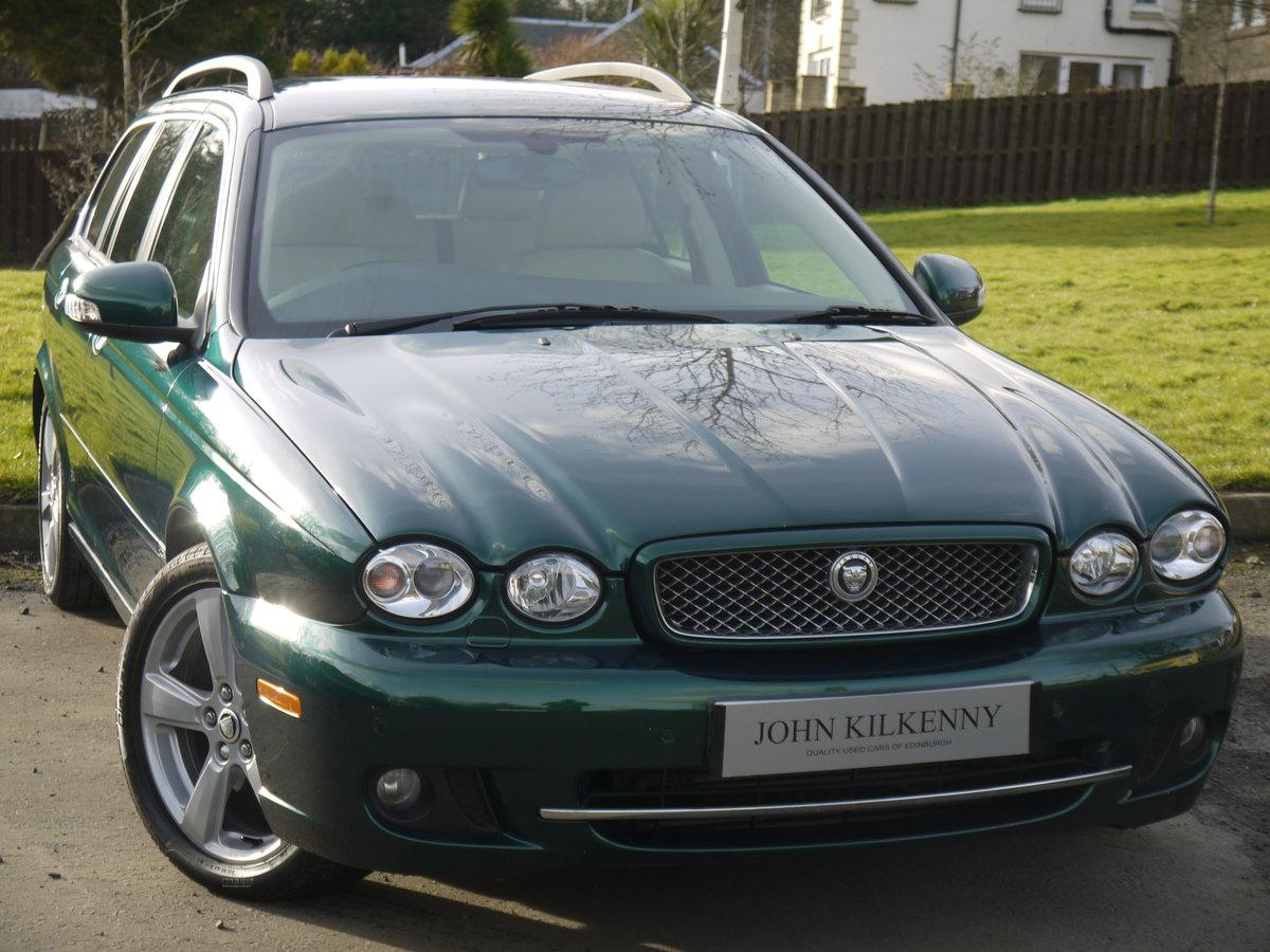 2009 Jaguar X-Type 2.0 D SE ESTATE **1 OWNER, ONLY 34000 MILES**  For Sale (picture 1 of 6)