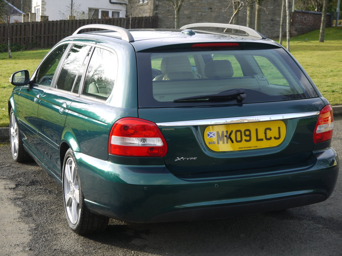 2009 Jaguar X-Type 2.0 D SE ESTATE **1 OWNER, ONLY 34000 MILES**  For Sale (picture 3 of 6)