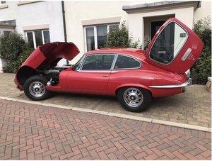 1971 E type Jaguar