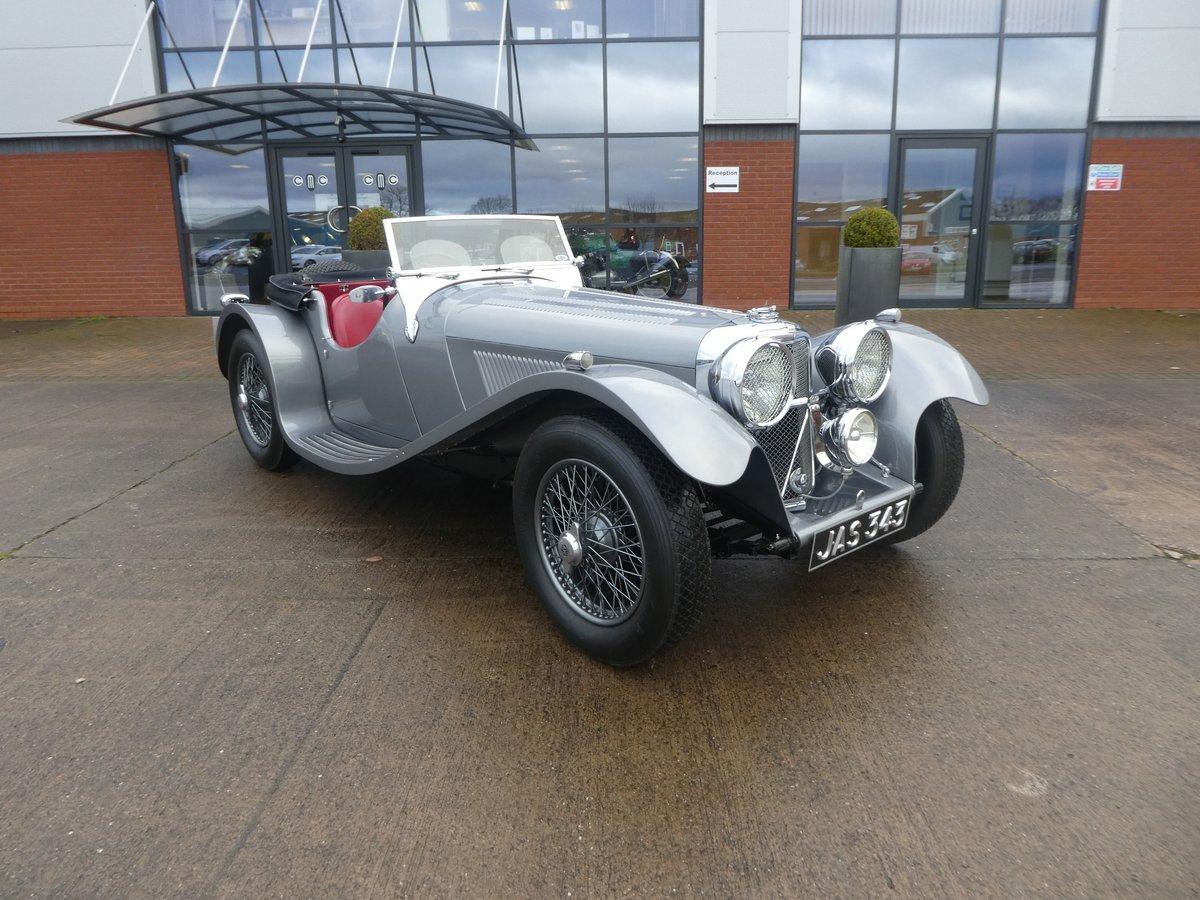 1939 Jaguar SS 100  3.5 Litre SOLD (picture 1 of 6)