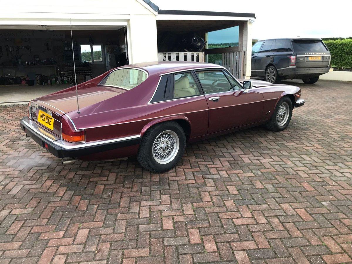 Jaguar XJS 3.6 HE Auto 1991 75k For Sale (picture 2 of 6)