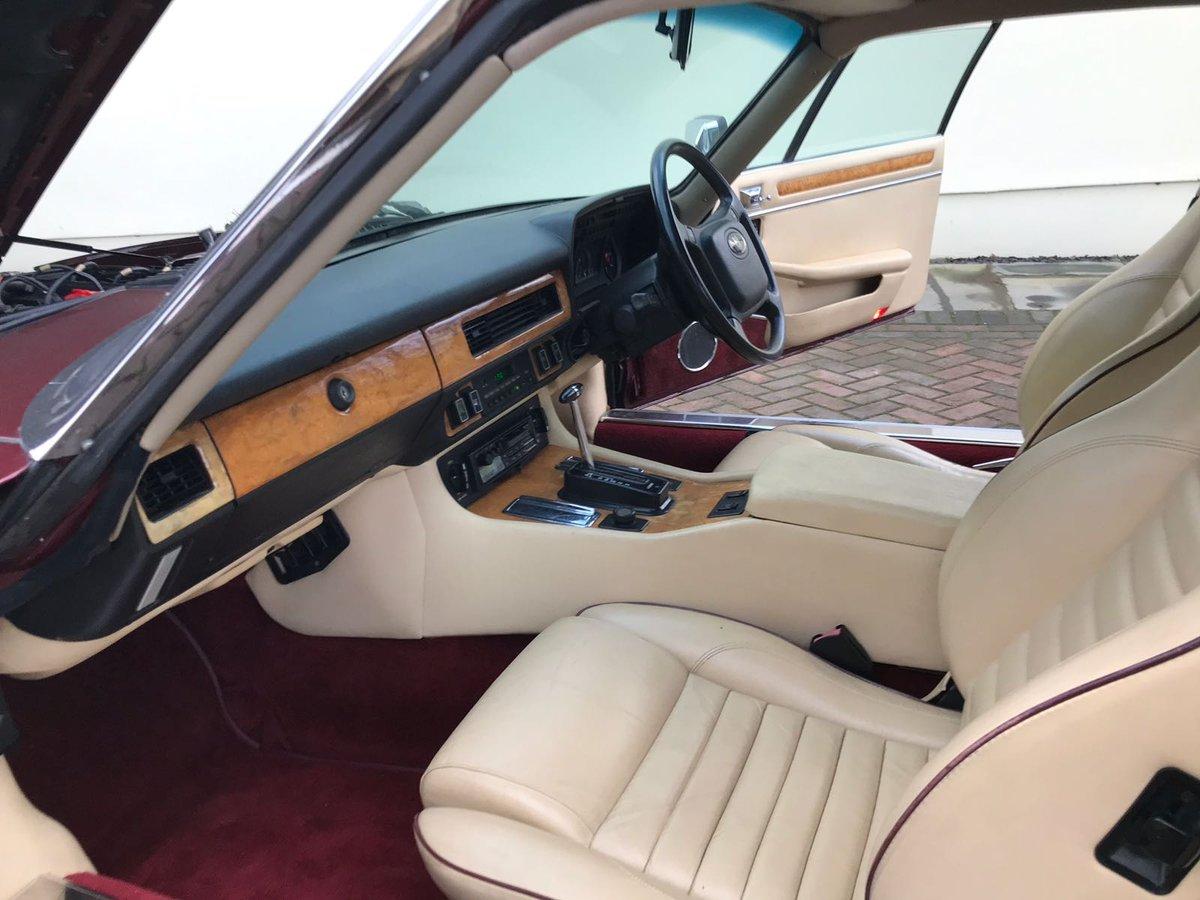 Jaguar XJS 3.6 HE Auto 1991 75k For Sale (picture 5 of 6)