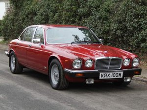 1981 Jaguar XJ6 Series III 4.2, 34k miles, 1st owner Sony SOLD