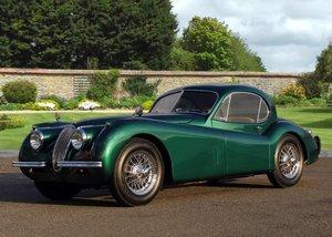 1952 Jaguar XK120 Fixedhead Coupé SOLD by Auction