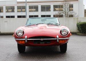 1969 Jaguar E-Type Series II Roadster (4.2 litre) SOLD by Auction