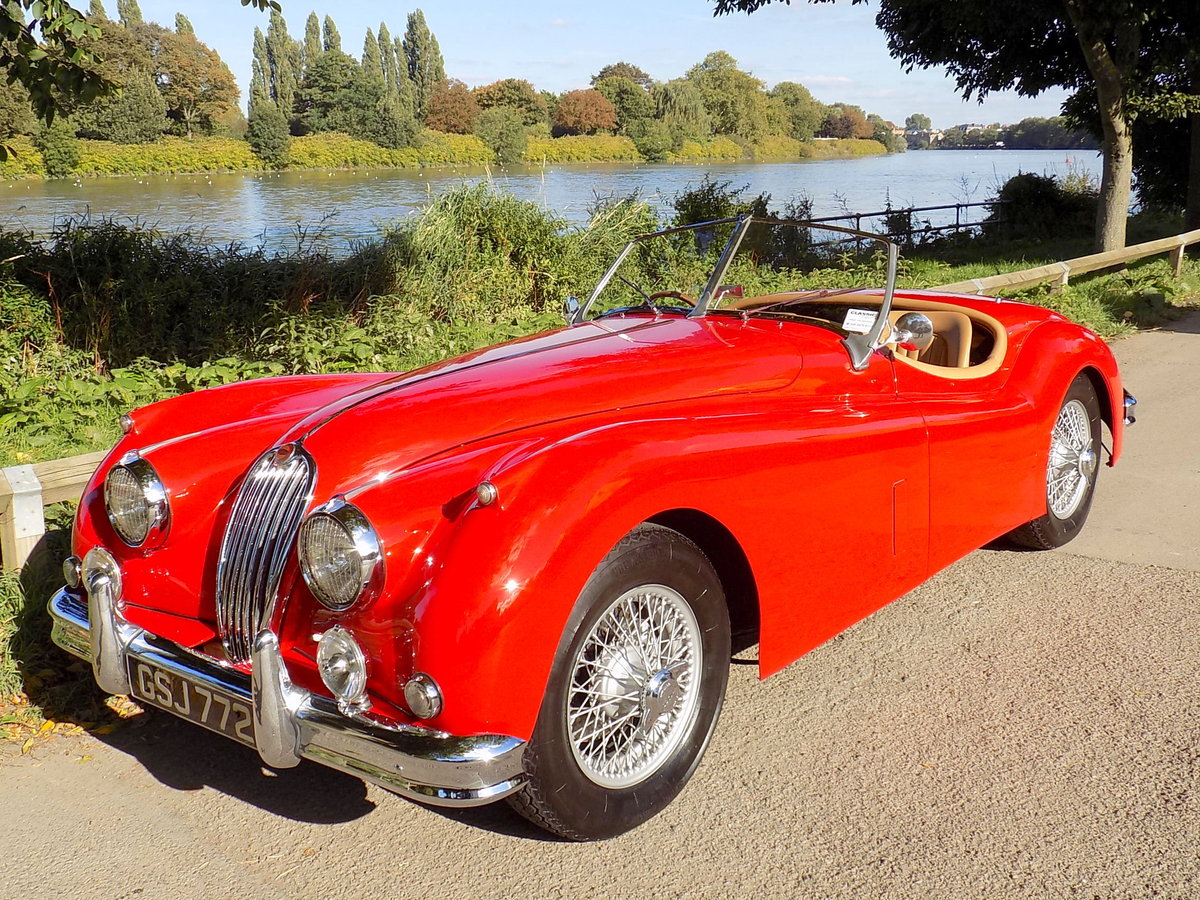 1954 JAGUAR XK140 OTS ROADSTER - RHD For Sale (picture 1 of 6)