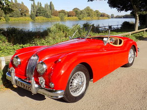 1954 JAGUAR XK140 OTS ROADSTER - RHD SOLD