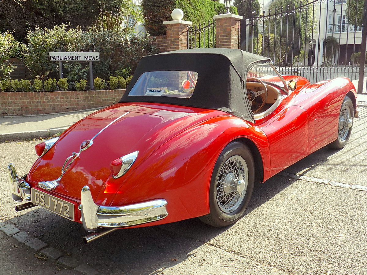 1954 JAGUAR XK140 OTS ROADSTER - RHD For Sale (picture 2 of 6)