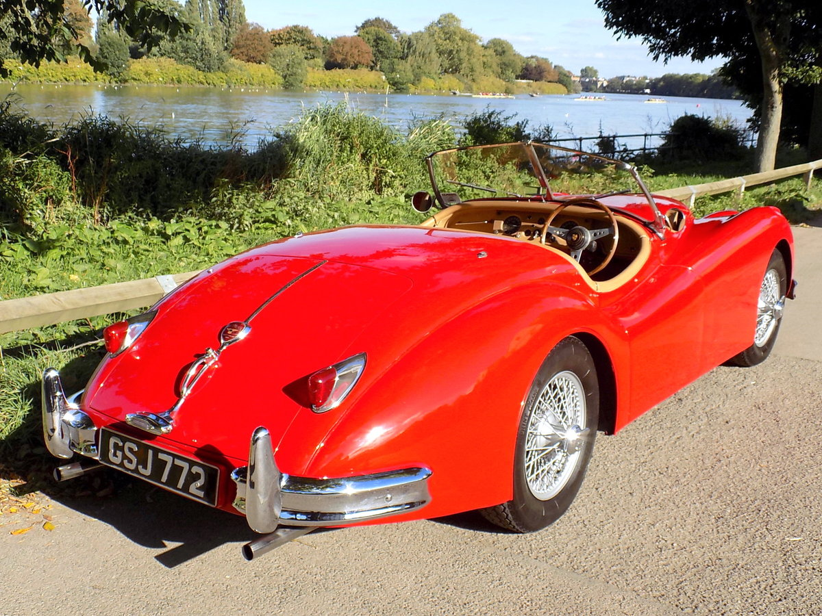 1954 JAGUAR XK140 OTS ROADSTER - RHD For Sale (picture 3 of 6)