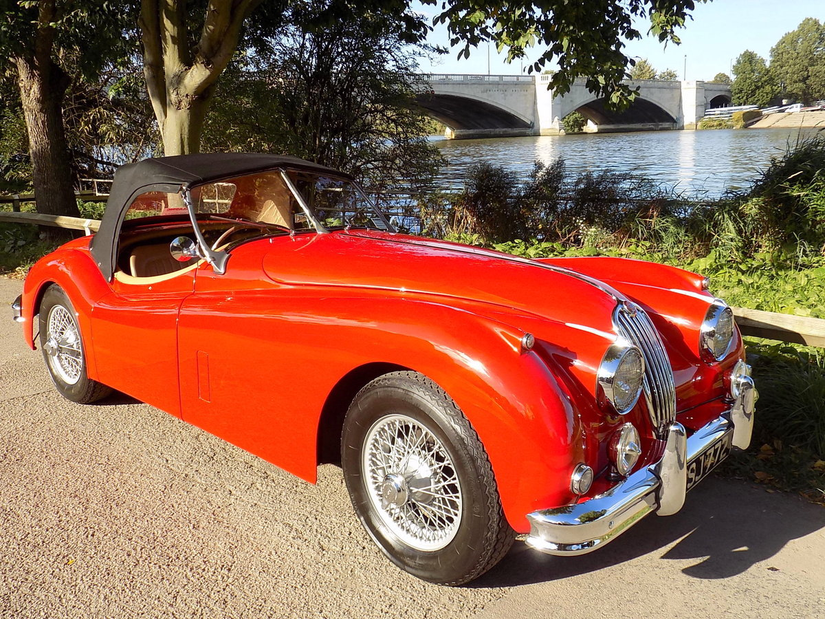 1954 JAGUAR XK140 OTS ROADSTER - RHD For Sale (picture 6 of 6)