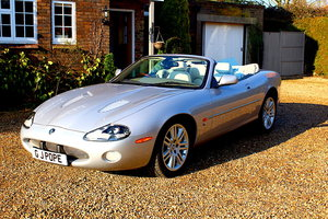 2002 STUNNING 4.2 XKR CONVERTIBLE For Sale