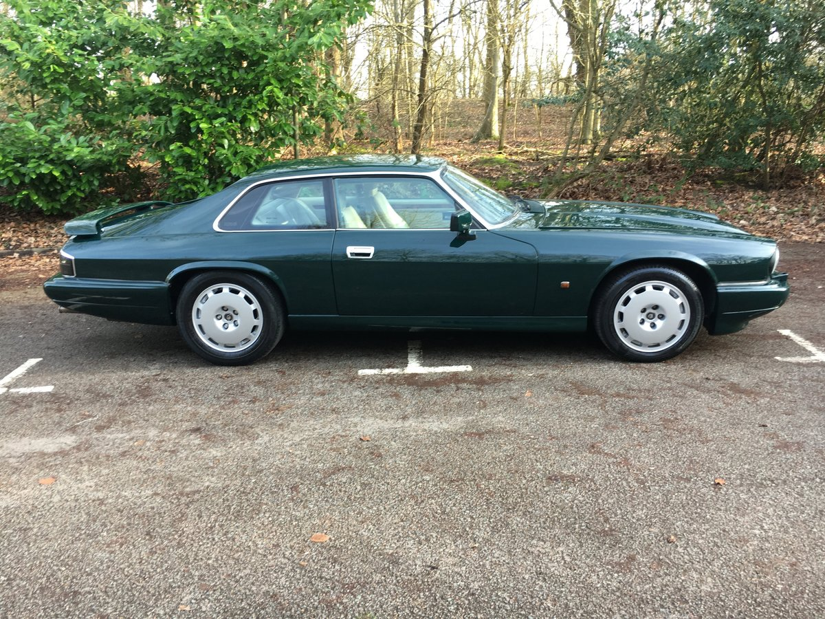1992 Jaguar XJR-S 6.0 V12 facelift in unmarked condition 80 Pics  For Sale (picture 2 of 6)