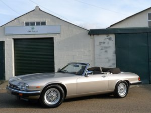 1988 Jaguar XJS Convertible, outstanding service history For Sale