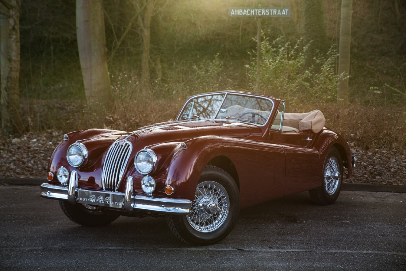 1956 JAGUAR XK 140 DROPHEAD COUPE SE For Sale (picture 1 of 6)