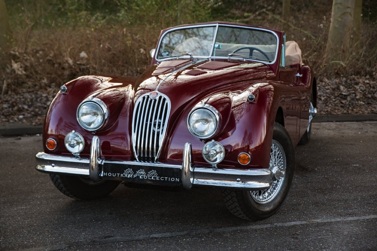 1956 JAGUAR XK 140 DROPHEAD COUPE SE For Sale (picture 4 of 6)