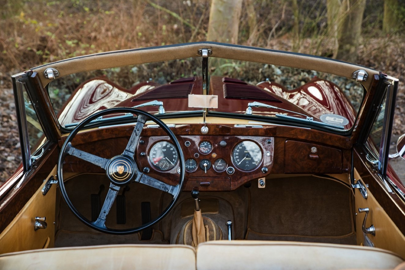 1956 JAGUAR XK 140 DROPHEAD COUPE SE For Sale (picture 5 of 6)