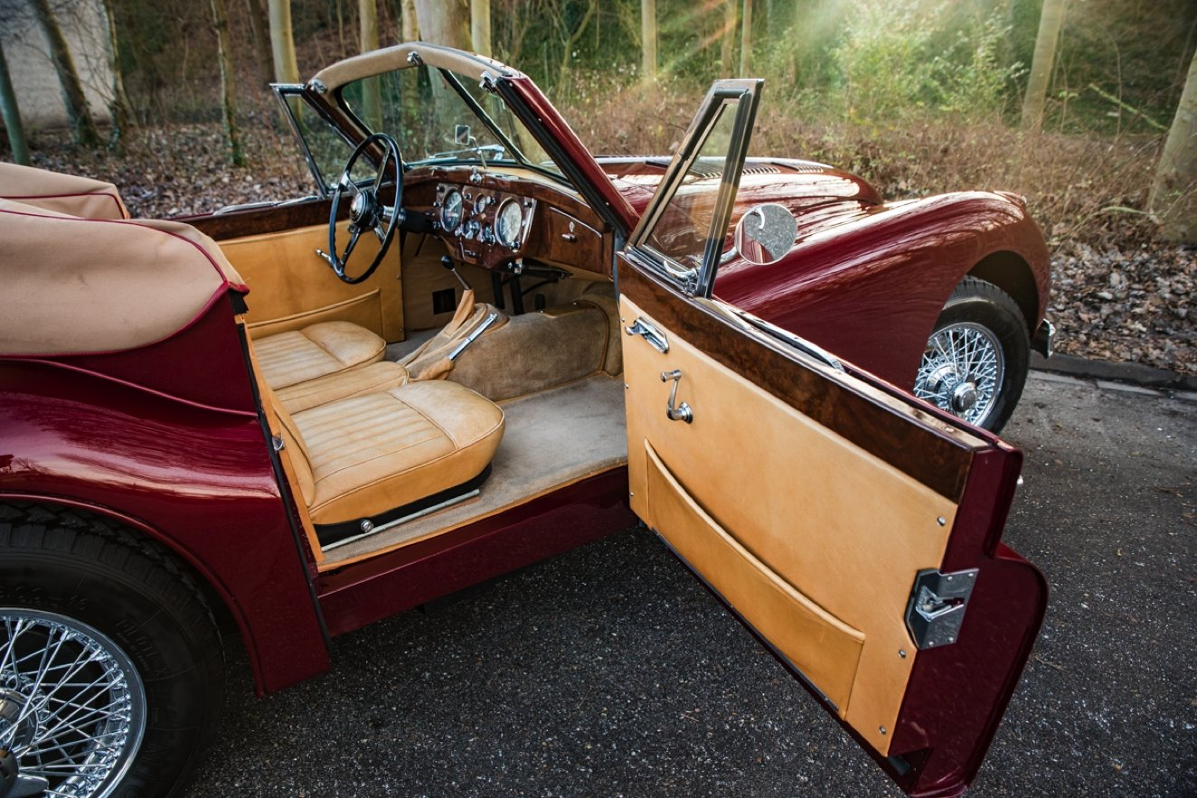 1956 JAGUAR XK 140 DROPHEAD COUPE SE For Sale (picture 6 of 6)