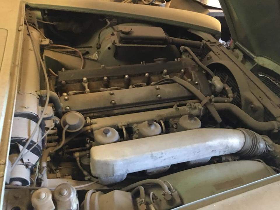 Rare 1968 Willow Green Jaguar 420G Barn Find For Sale (picture 4 of 6)