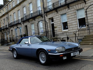 1989 JAGUAR XJS V12 CONVERTIBLE G Reg - JUST 35K MILES - STUNNING For Sale