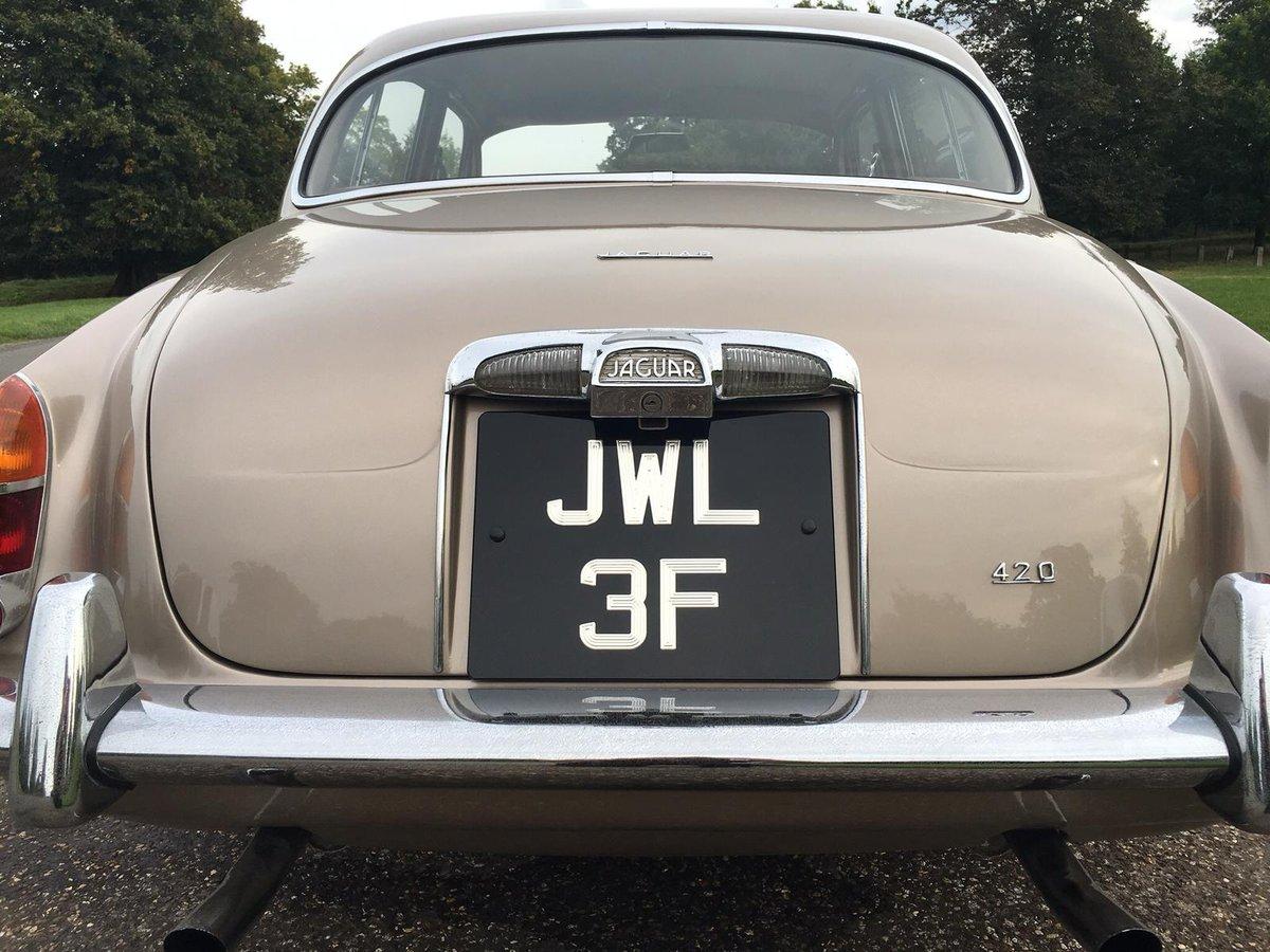1967 Jaguar 420 low mileage For Sale (picture 2 of 6)